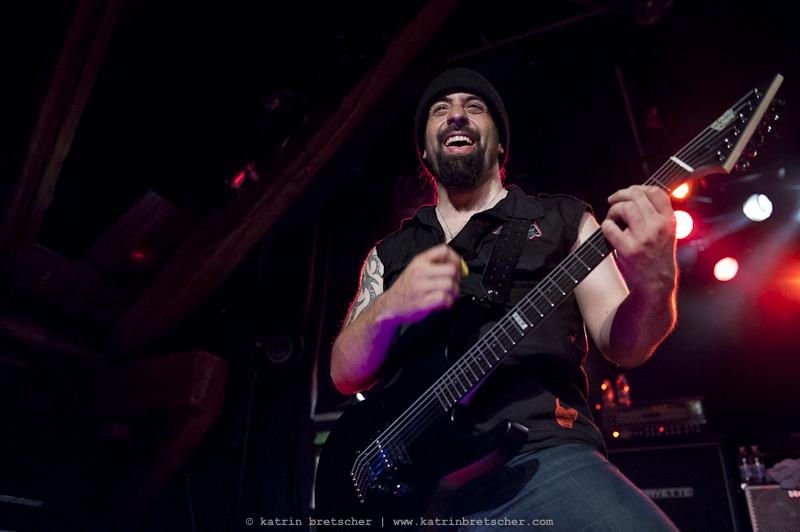 Rob Caggiano of Anthrax, Schüür Lucerne, July 5 2011