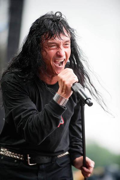 Joey Belladonna of Anthrax, Sonisphere festival Switzerland, June 18 2010