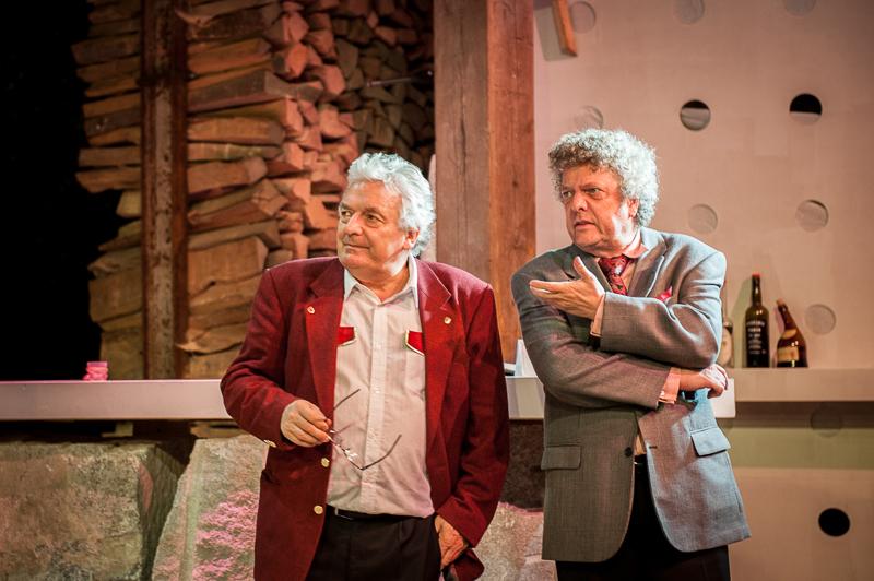 Drei Männer im Schnee (turbine theater 2014)