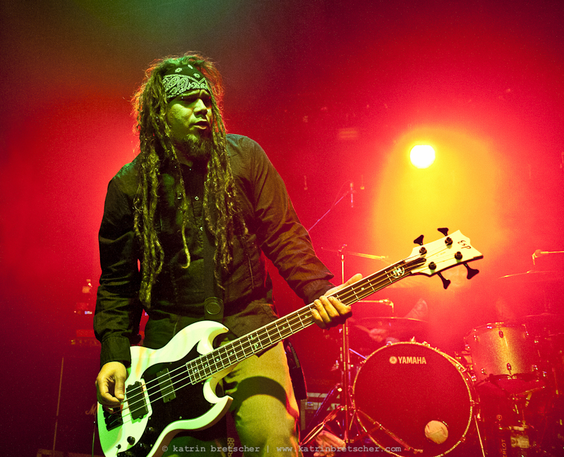 Ill Niño  live concert photo taken by professional rock photographer Katrin Bretscher
