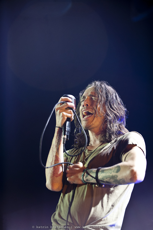 Incubus  live concert photo taken by professional rock photographer Katrin Bretscher