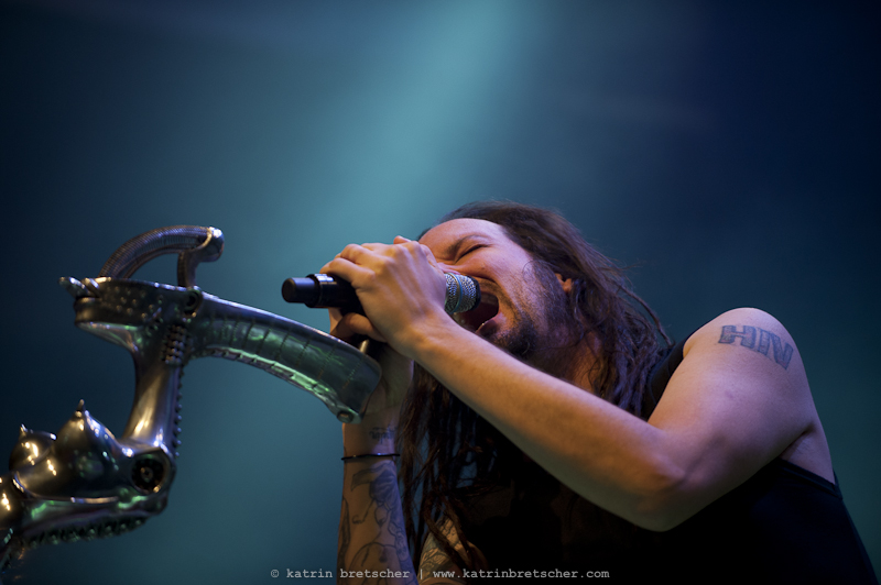 Korn  live concert photo taken by professional rock photographer Katrin Bretscher