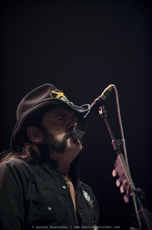 Motörhead  live concert photo taken by professional rock photographer Katrin Bretscher