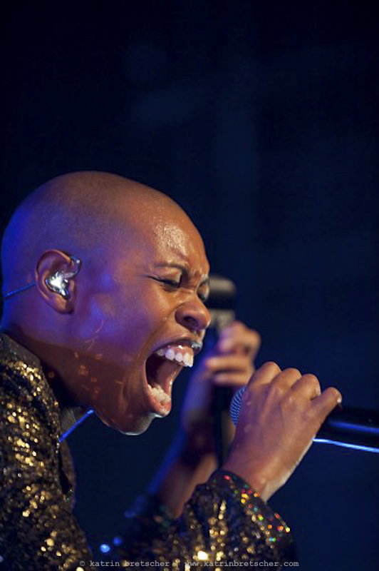 Skunk Anansie  live concert photo taken by professional rock photographer Katrin Bretscher