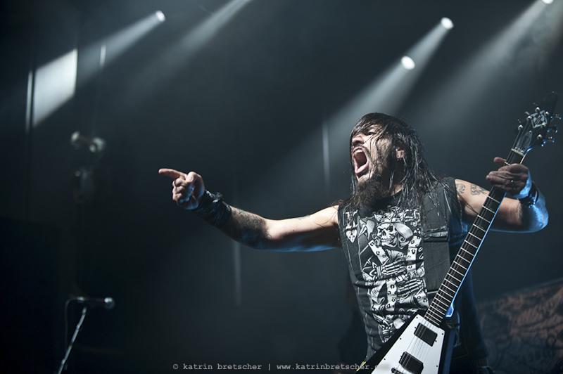 Machine Head  live concert photo taken by professional rock photographer Katrin Bretscher