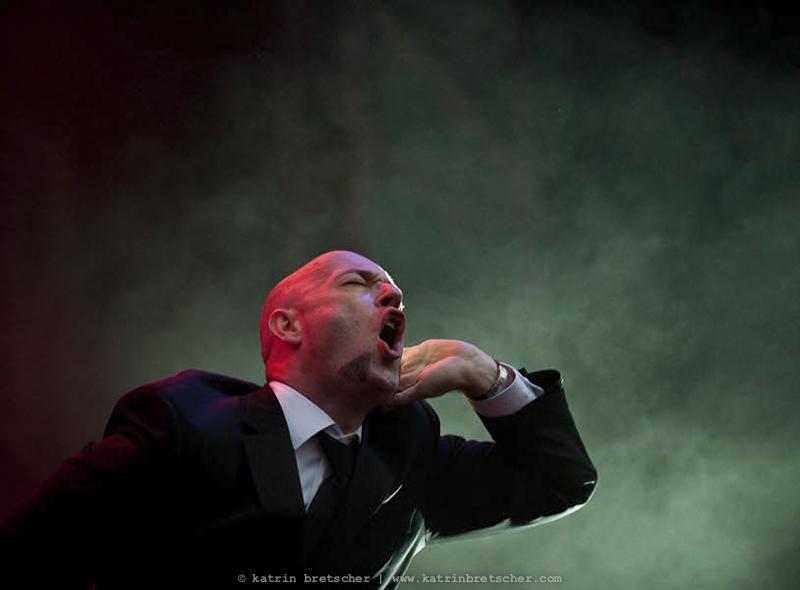 Unheilig  live concert photo taken by professional rock photographer Katrin Bretscher