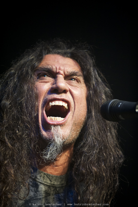 Slayer  live concert photo taken by professional rock photographer Katrin Bretscher