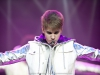 Justin Bieber  live concert photo taken by professional rock photographer Katrin Bretscher