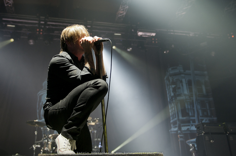 Billy Talent live concert in Winterthur, Switzerland. Photo by professional music photographer Katrin Bretscher from Zurich, Switzerland