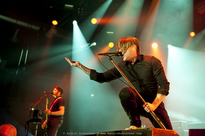 Billy Talent in concert at Eishalle Deutweg, Winterthur. Live phogography by professional music photographer Katrin Bretscher